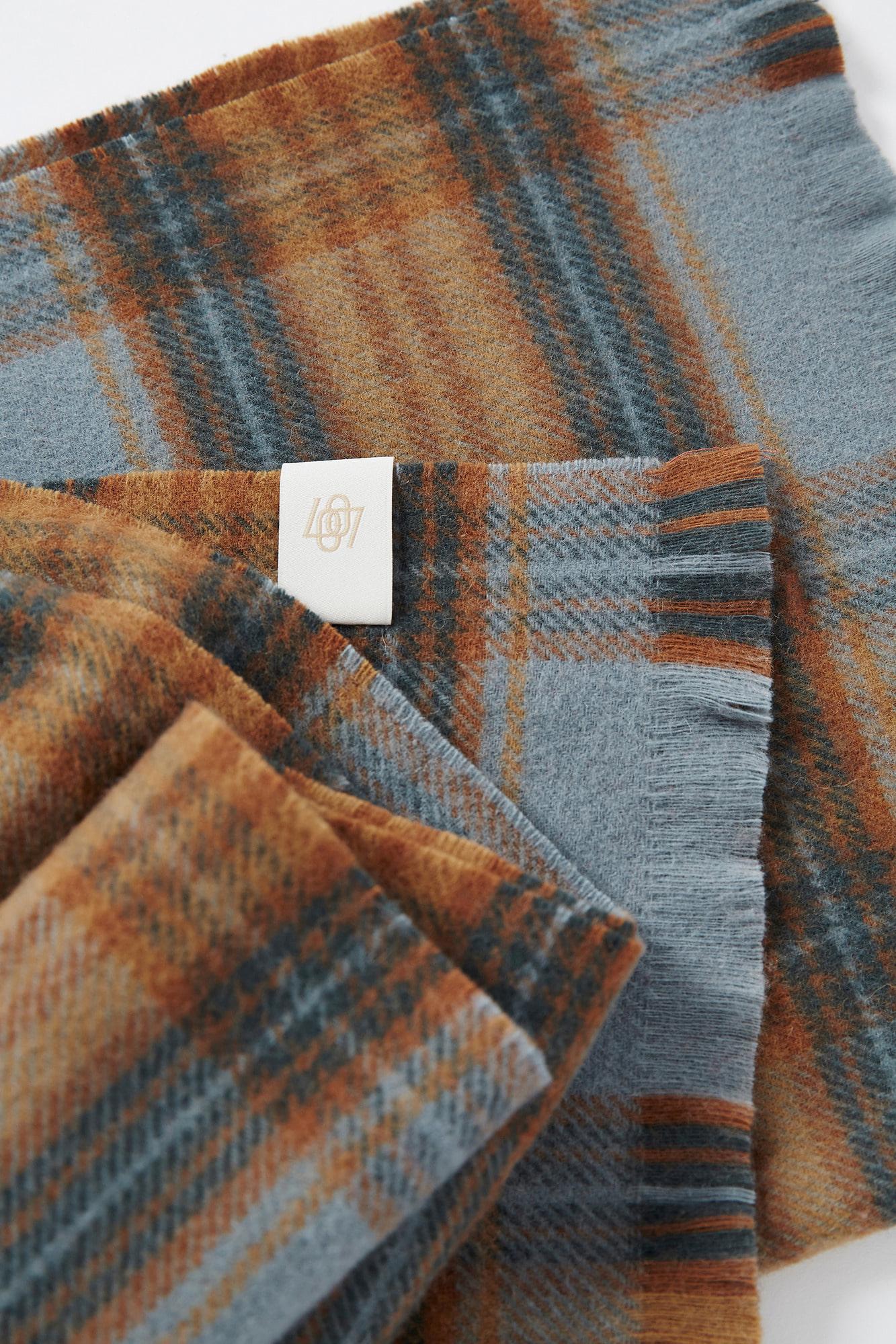 LOW CLASSIC韩国设计师品牌百搭纯羊毛围巾多色