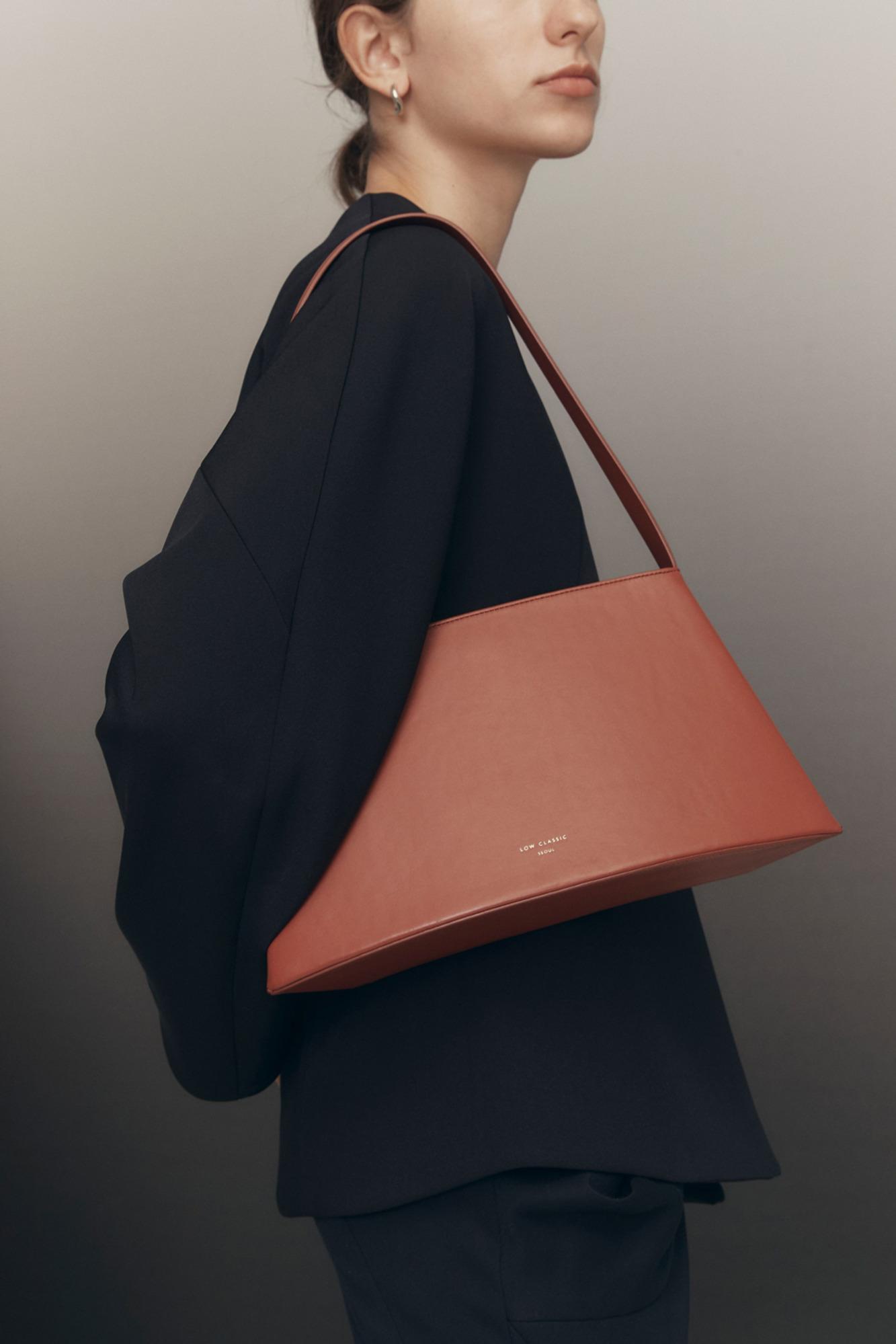 韩国设计师品牌LOW CLASSIC秋冬单肩手提包腋下包