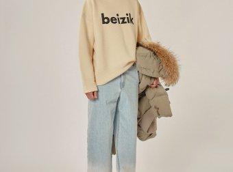 ADER ERROR2020新款BEIZIK knit 字母简洁羊毛圆领毛针织衫男女同款