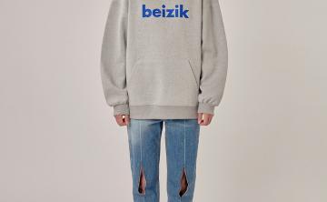 ADER ERROR2020新款BEIZIK sweatshirt 圆领口袋 卫衣字幕男女同款