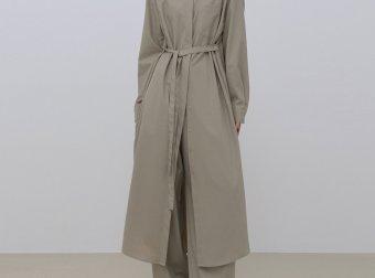 正品treemingbird韩国设计师品牌2021春夏款通勤百搭衬衫连衣裙