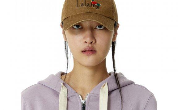 正品代购韩国设计师品牌KIJUN 2021春夏款百搭刺绣字母棒球帽直邮