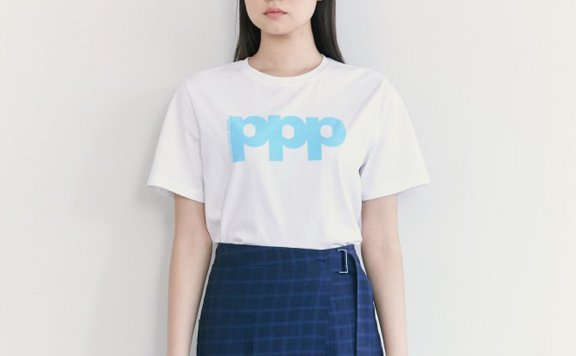 韩国设计师品牌kuho plus 2021春款纯棉休闲百搭短袖T恤正品直邮