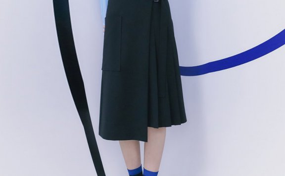 正品代购韩国设计师品牌kuho plus 2021春夏款纯棉百搭短款外套
