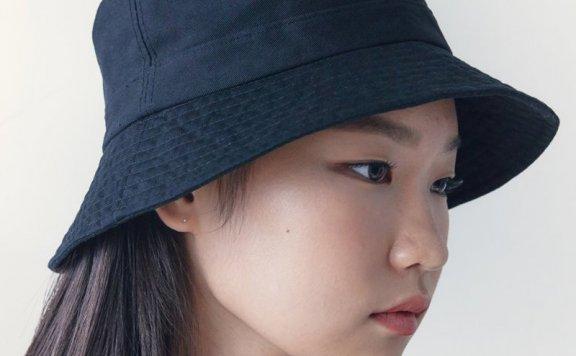 正品代购kuho plus韩国设计师品牌2021春夏款休闲百搭渔夫帽桶帽