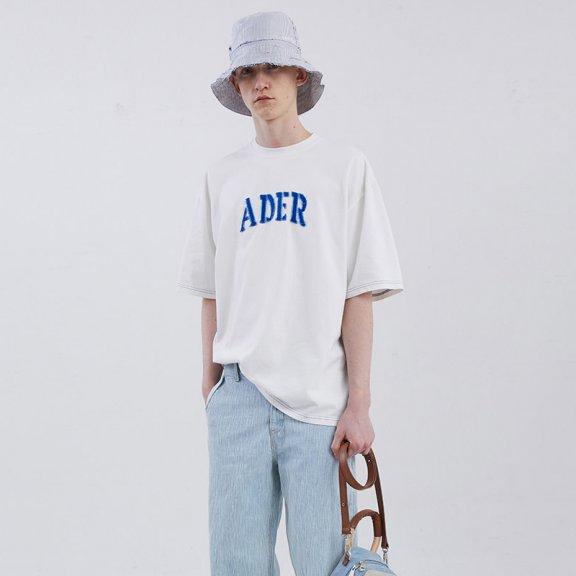 ADER ERROR韩国设计师品牌2021春款正品字母徽标短袖T恤男女款