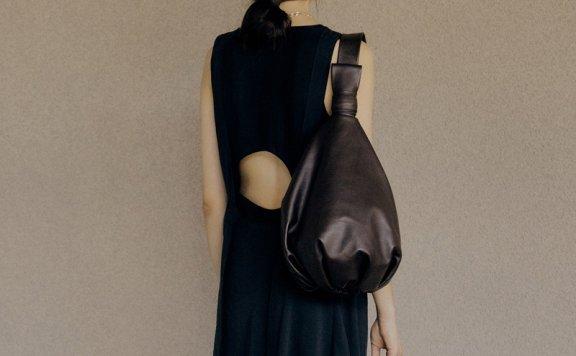 韩国设计师品牌 LOW LCASSIC 2021SS春夏 小号幸运包黑色棕色