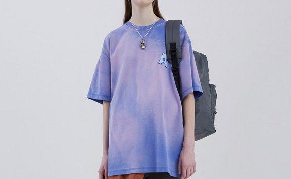 ADER ERROR韩国设计师品牌2021春款纯棉字母刺绣短袖T恤男女款