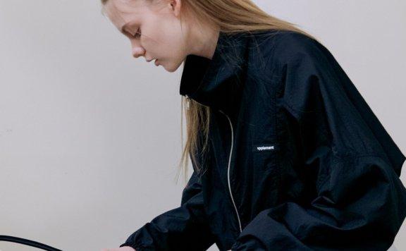 正品代购VPPLEMENT 韩国设计师品牌 21春款 拉链抽身休闲百搭外套