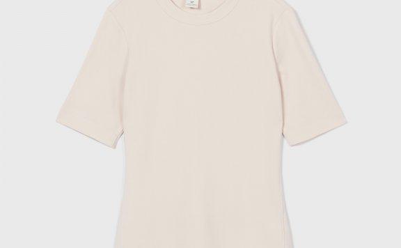 正品代购CLUB MONACO 21夏款 简约百搭纯色圆领短袖T恤
