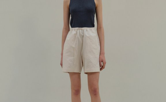 MOIA 韩国设计师品牌 21夏 基础款棉质吊带背心针织上衣正品直邮