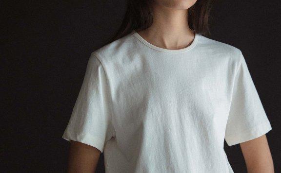 NOTHING WRITTERN 韩国设计师品牌 21夏 纯棉圆领基础款短袖T恤