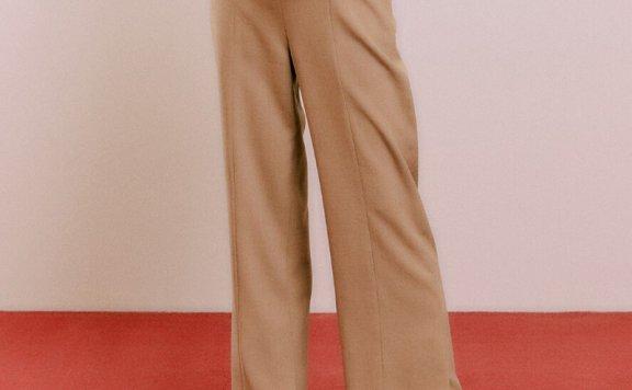 DEARK 韩国设计师品牌 21秋款 侧开叉休闲宽松阔腿裤长裤正品直邮