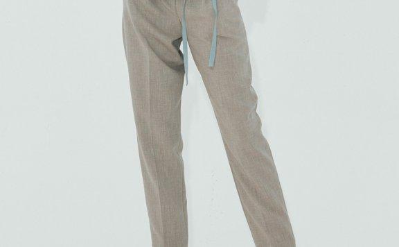 正品代购NUVO.10韩国设计师品牌 21秋款 高腰休闲百搭口袋小脚裤