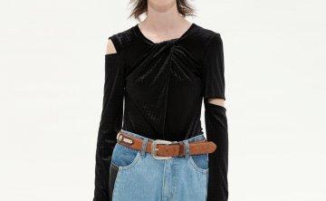 anderssonbell 韩国设计师品牌 21秋冬 圆领小众设计开叉袖连体衣