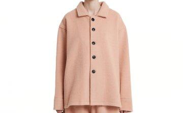 Trunk Project 21秋冬 韩国设计师品牌 单排扣羊毛长袖毛呢外套
