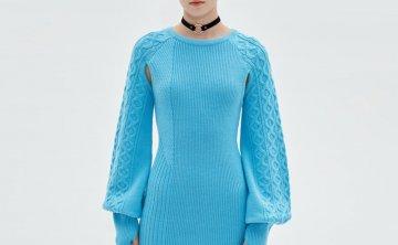anderssonbell 韩国设计师品牌 21秋冬 圆领个性设计套头针织衫