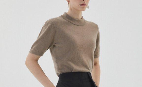 HAE BY HAEKIM 韩国设计师品牌 21秋冬 圆领宽松百搭羊毛针织套装