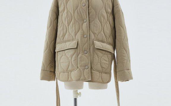 HAE BY HAEKIM 韩国设计师品牌 21秋冬 圆领按扣束腰口袋夹克外套